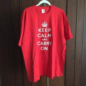 Tops - Keep Calm Tee